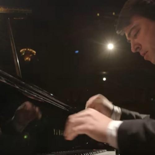 Balázs János plays Liszt: XII. Hungarian Rhapsody