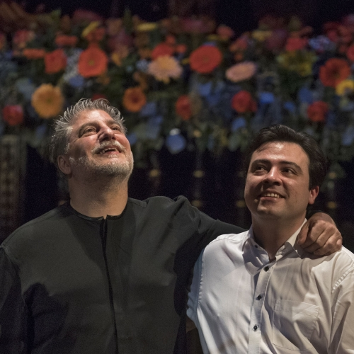 José Cura és Balázs János, Zeneakadémia, 2019 | José Cura and Balázs János, Liszt Academy, 2019